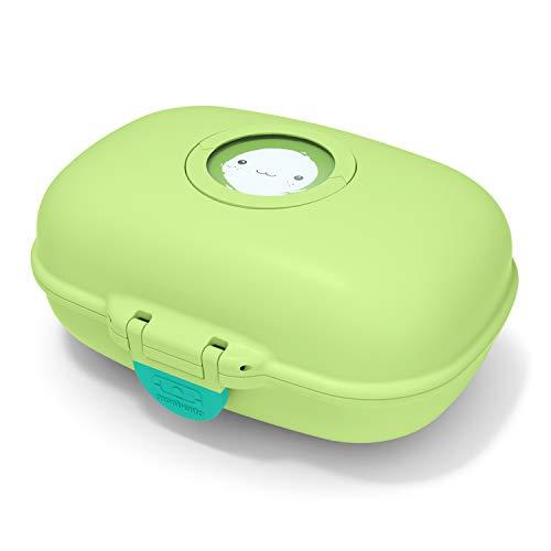 monbento - MB Gram grün Apple Snackbox Kinder - Individuell Gestaltbar - BPA frei