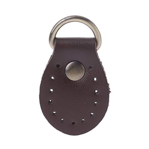 SimpleLife Handtas, lederen gesp, schoudertas, rugzak, accessoires, reservetas, sluiting, make-ing, DHZ, 3 x 5 cm