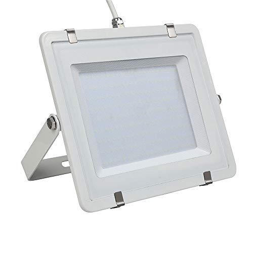 V-TAC PRO VT-206 LED-koplamp 200 W Slim Aluminium Wit Chip Samsung SMD hoge helderheid natuurlijk wit 4000K - SKU 787