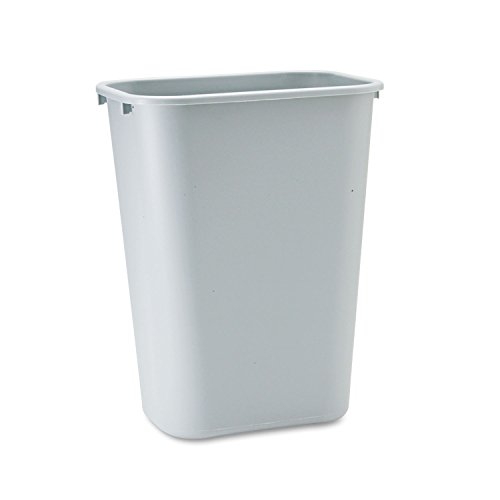 Rubbermaid Commercial Standard Series Wastebaskets (Gray)