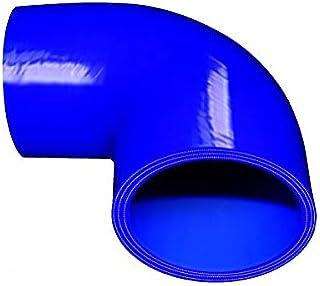 TOYOKING ハイテク シリコンホース エルボ 90度 同径 内径Φ70mm 青色 ロゴマーク無し インタークーラー ターボ インテーク ラジェーター ライン パイピング 接続ホース 汎用品