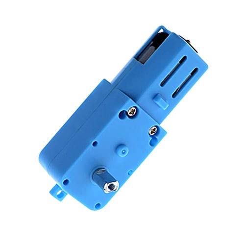 Bclla Zkenshan-DIY Motor DC 3V-6V Metal Gear Motor All Metal/Half Metal Single Axis Gear Motor Robot Intelligent Vehicle Speed Reducer, Easy to Install (Voltage(V) : All Metal)