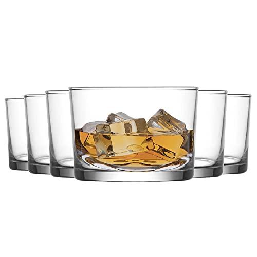 La-V Verres Tumbler à Whisky Bodega - 240 ML - Lot de 12