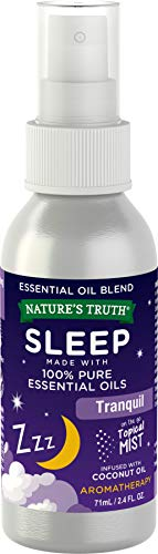 Nature s Truth Sleep Essential Oil Spray   2.4 oz   100% Pure Essential Oil   Topical Mist Blend   Tranquil Resting Calming