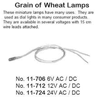 Philmore 11-712 Grain of Wheat Lamps 12V AC/DC (2 lamps per package)