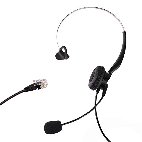 LotFancy T400 Headset Headphones Ear Phone for A100, S10, S11, S12, S50, T10, T20, T50, T100, T110 Telephone