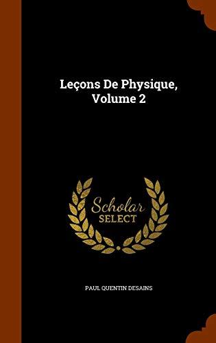 Lecons de Physique, Volume 2
