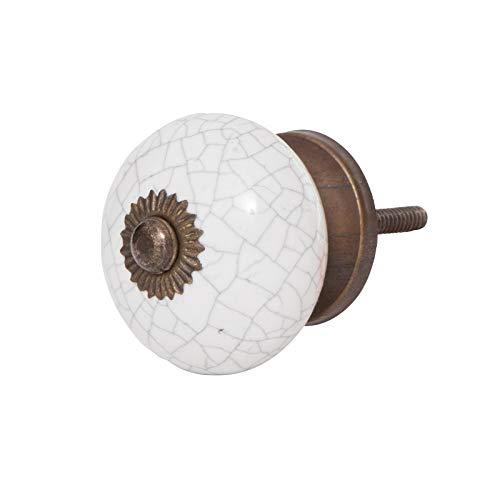 Möbelknopf Knauf Griff Knopf Möbelknauf für eine wertige und stilechte Möbelgestaltung Serie Antik Brik