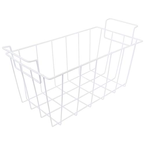 KITCHEN BASICS 101: WR21X10208 White Refrigerator Freezer Basket Replacement for GE and Haier RF-0300-29
