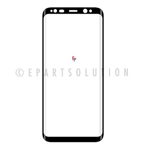 ePartSolution_Touch Screen Lens Front Glass Outer Lens Cover Black For Samsung Galaxy S8 G950A G950T G950V G950P Replacement Part USA Seller