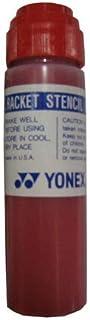 YONEX Racket Stencil Ink Red