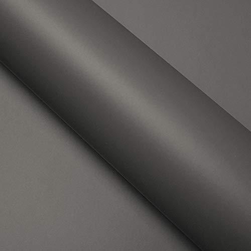 DIMEXACT Covering Voiture Gris Anthracite Mat 3D Air Escape, de Largeur : 1.52 m x Longueur : 0.5 m, en Rouleau