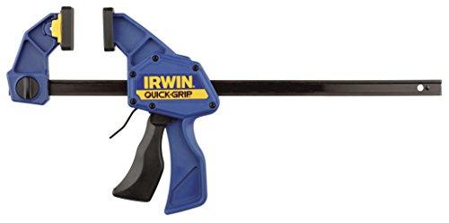 Irwin Quick-Change Einhand-Zwinge 150 mm 2 Stück, Haltekraft 135 kg, Spreizfunktion, T5062QCEL7