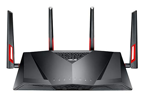Asus DSL-AC88U Modem Router (EU-Version Annex A, WiFi 5 AC3100 MU-MIMO, 4x Gigabit LAN, AiProtection, Dual-Core CPU, Multifunktion USB 3.0)