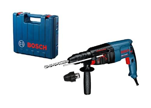 Bosch Professional Bohrhammer GBH 2-26 DFR (inkl. Tiefenanschlag 210 mm, SDS plus Schnellwechselbohrfutter, Zusatzhandgriff, Schnellwechselbohrfutter 13mm, im Koffer)