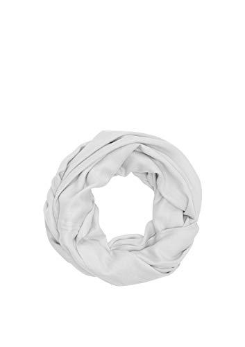 s.Oliver Damen 39.912.91.6040 Mütze, Schal & Handschuh-Set, Grau (Silver Grey 9025), One Size (Herstellergröße: 1)