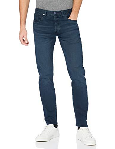 Levi's Mens 501 Slim Taper Jeans, Key West Sand Tnl, 33 32