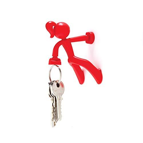 PA Design Monkey Business Key Petite-Attache clés -, Rouge, 7,5 x 6 x 8,1 cm