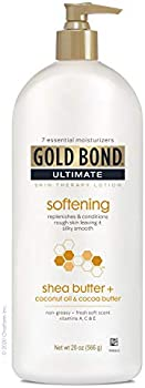 Gold Bond Ultimate Skin Therapy Lotion with Shea Butter 20oz Bottle