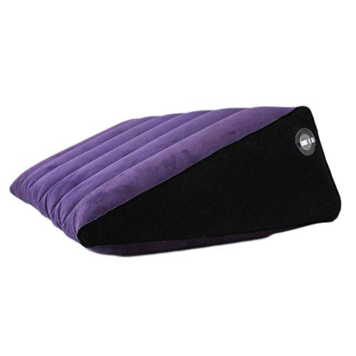 Inflatable Knee-x Pillow, Leg s-ē-x Sleep Pillow-Best for Sciatica, Lower Back Pain, Leg Pain, Pregnancy, Leg Joint Pain-Inflatable s-ē-x Wedge Pillow