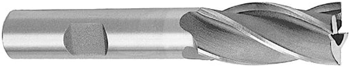Drill America 14.00mm High Speed Steel 2 Flute Single End End Mill, DWC Series