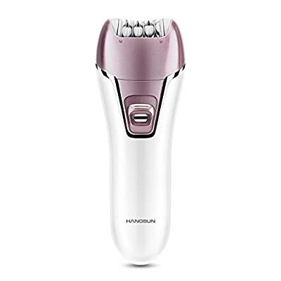 Hangsun Epilator F270 Wet and Dry Hair Removal Kit, 2 in 1 Cordless Lady Shaver Rechargeable Epilator for Women Skin Care from HANGSUN