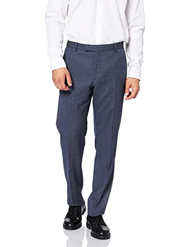 Strellson 11 Mercer 10005913 Pantaloni Eleganti, Blu (Bright Blue 430), 37W x 33L (Dimensioni Produttore:106) Uomo