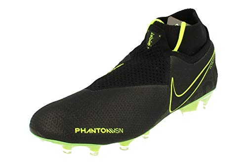 Nike Phantom Vsn Elite Df Fg - Botas de fútbol unisex, color Negro, talla 41 EU