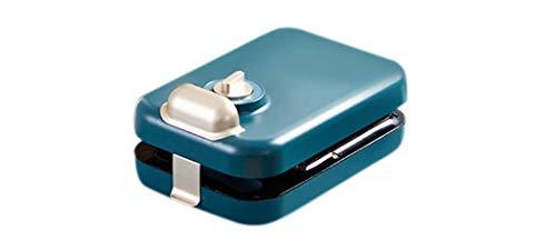 xianguang Sandwich leichte Mahlzeit Frühstücksmaschine Waffel Multifunktions-Timer Heizung Toastpresse Toaster Brotmaschine-Blau