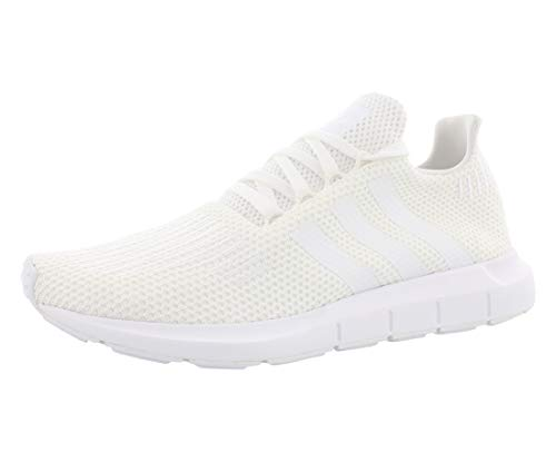 adidas Originals Swift Herren Laufschuh, Weiá (White/White/Black), 45.5 EU