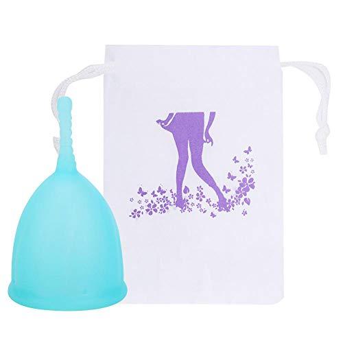 Suministros para la menstruación Reutilizable, Copa de higiene de seguridad sin fugas para mujer, Copa menstrual de silicona Reutilizable Copa de higiene para mujer Herramienta(S-#1)