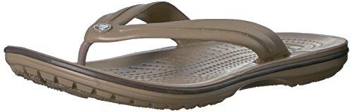 Crocs Crocband Flip Infradito, Unisex - Adulto, Marrone, 36/37 EU