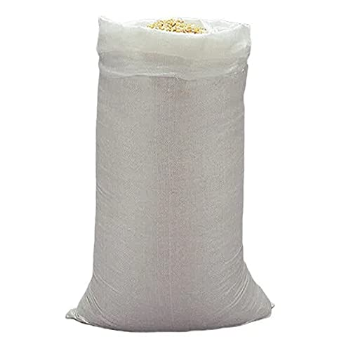 MJCC x10 Sacos para escombros • De Rafia • Grande 80x50cm • Resiste más de 25kg • 10 Unidades
