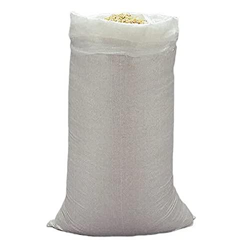 MJCC x5 Sacos para escombros • De Rafia • Grande 80x50cm • Resiste más de 25kg • 5 Unidades