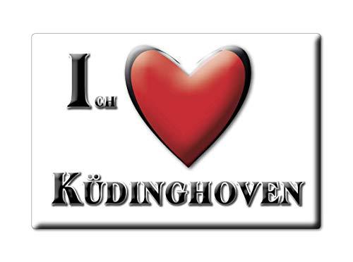 Enjoymagnets KÜDINGHOVEN (NW) Souvenir Deutschland Nordrhein Westfalen Fridge Magnet KÜHLSCHRANK Magnet ICH Liebe I Love