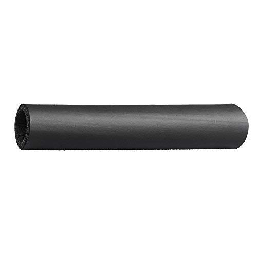 """Grip-Tek Black Foam Tubing Grips – NPVC Foam Handle Grips for Fitness, Home, Lawn and Garden, and Automotive Applications – 26"""" Length, Fits Bar Diameter of 1.00"""" (Pack of 2)"""
