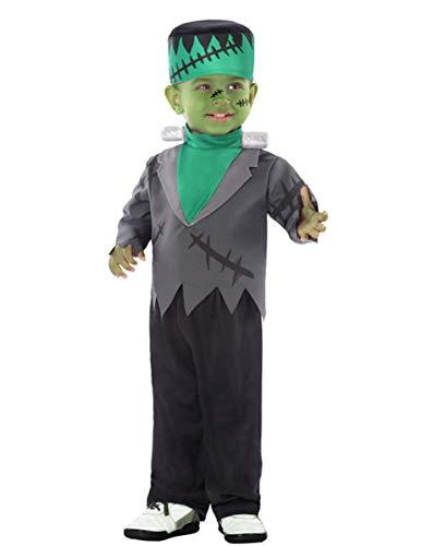 Atosa-61206 Atosa-61206-Disfraz Monstruo-Bebé + 24 Meses-niño-Verde, color (61206) , color/modelo surtido