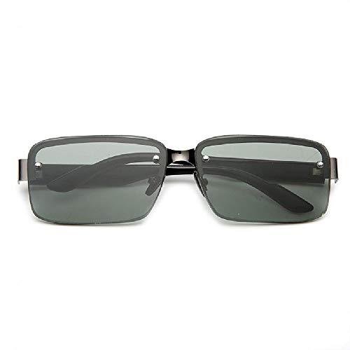 Nobrang Neue Donghai Kristallglasbrille Grey Tea Light Persönlichkeit Augenpflege Sonnenbrillen Kristallgläser