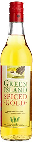 Green Island Spiced Gold Rum (1 x 0.7 l)