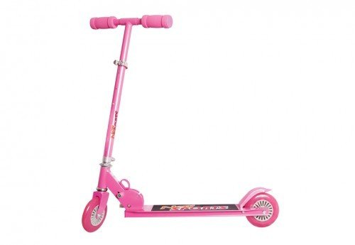 NEW SPORTS Scooter, pink ABEC 5, 125 mm Reifengr., bis 100 kg (0019809)