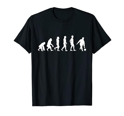 Evolution Kegeln Bowling Kegelspiel Kegelbahn Bowlingspieler T-Shirt