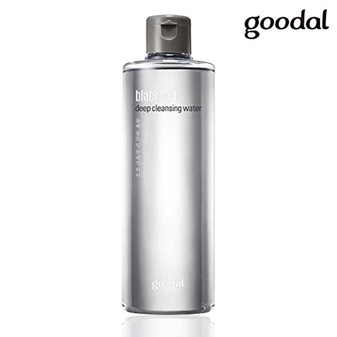 つまずく追加するアッパーグーダル ブラックソルトディープクレンジングウォーター goodal black salt deep cleansing water 300ml [並行輸入品]