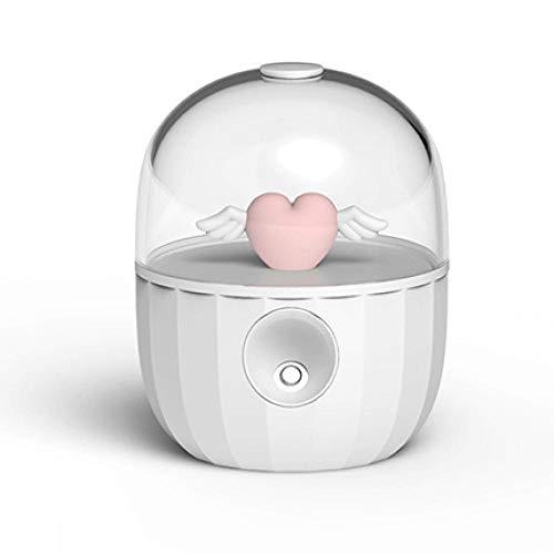 USB-luchtbevochtiger, kristallen fles, magisch, schattig, klein, dinosaurus, stil design, geatomiseerd, watertank, gesloten watertank, verstelbaar, verstelbaar, voor babykamer, woonkamer