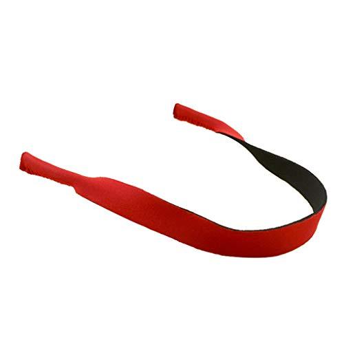 Fangjuhua Gafas de Neopreno Flexible Cuerda de Seguridad de Las Gafa Deportes de la Correa Gafas Gafas Hilo Rojo Guardián