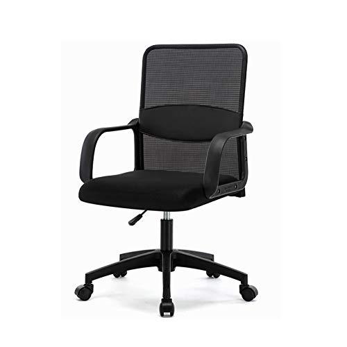 HMBB Sillas de Escritorio, Las sillas de oficina silla de oficina en casa en el centro posterior del PC giratoria soporte lumbar ajustable turística de tareas del ordenador ergonómico confortable sill