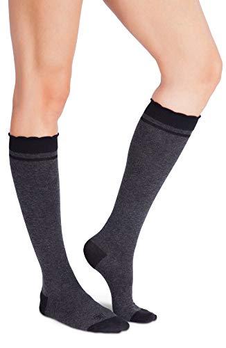 Belly Bandit - Compression Socks During & After Pregnancy - Size 1, Charcoal