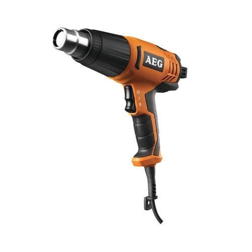 AEG 4935441015 Heißluftgebläse HG 560 D, 1200 W, 220 V, Schwarz, Orange