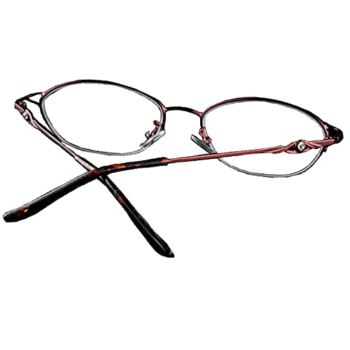 Gafas de lectura de enfoque múltiple, gafas de lectura de alta definición de media montura, gafas de lectura universales de alta gama para hombres y mujeres, monturas de titanio puro, lentes de resi