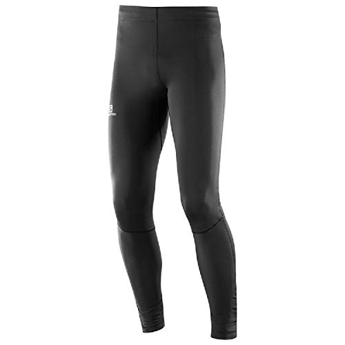 Salomon Men's Agile Long Tight , Black, Large