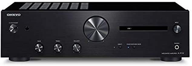 Onkyo A-9110 Home Audio Integrated Stereo Amplifier - Black